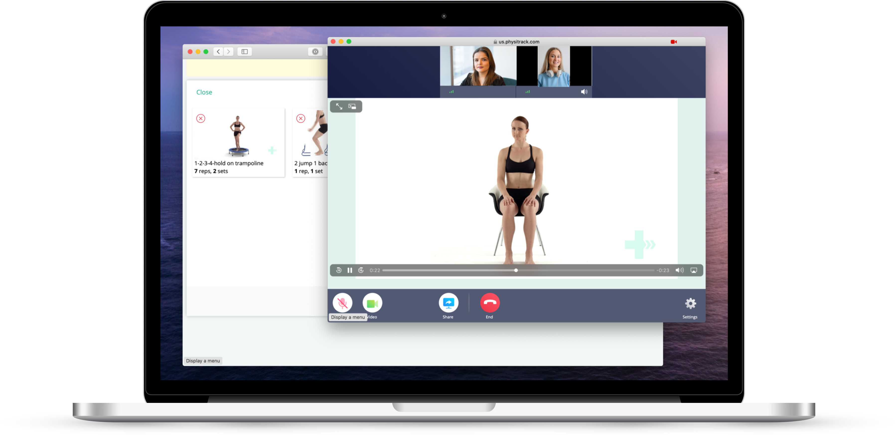 Telehealth on Mac