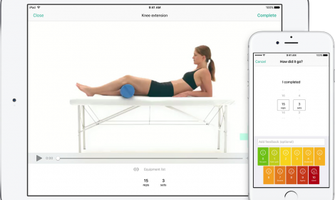 Physiapp outcome measure