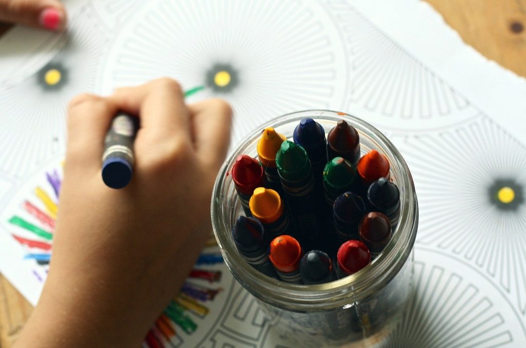 Colouring can help you find your inner child