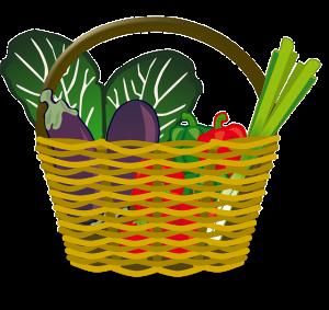 Fresh food basket